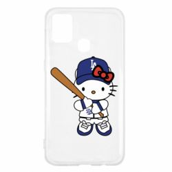 Чохол для Samsung M31 Hello Kitty baseball