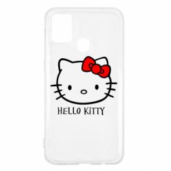 Чехол для Samsung M31 Hello Kitty