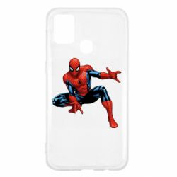 Чехол для Samsung M31 Hero Spiderman