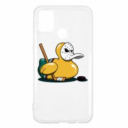 Чохол для Samsung M31 Hockey duck