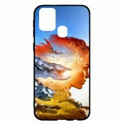 Чехол для Samsung M31 Horizon Zero Dawn art
