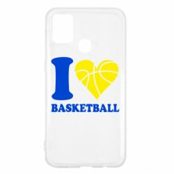 Чехол для Samsung M31 I love basketball