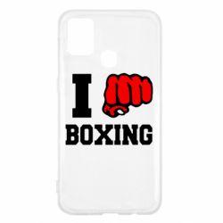 Чехол для Samsung M31 I love boxing