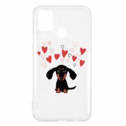 Чохол для Samsung M31 I love dachshund