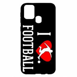 Чохол для Samsung M31 I love football