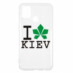 Чохол для Samsung M31 I love Kiev - з листком