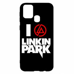 Чехол для Samsung M31 I love Linkin Park