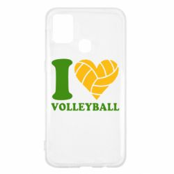 Чохол для Samsung M31 I love volleyball