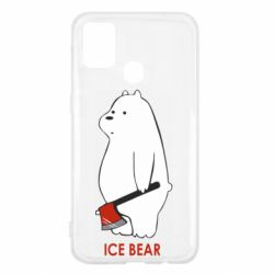 Чохол для Samsung M31 Ice bear