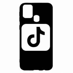 Чехол для Samsung M31 Иконка тик ток
