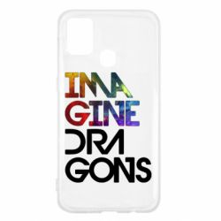 Чехол для Samsung M31 Imagine Dragons and space