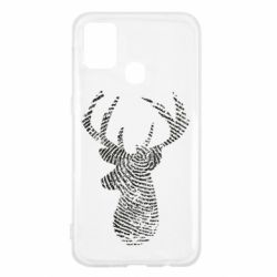 Чохол для Samsung M31 Imprint of human skin in the form of a deer