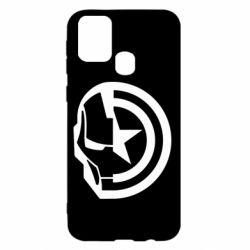 Чохол для Samsung M31 Iron Man and Captain America