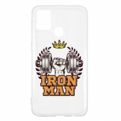 Чохол для Samsung M31 Iron man and sports
