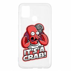 Чохол для Samsung M31 It's a crab!