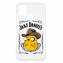 Чохол для Samsung M31 Jack Daniels Adventure Time