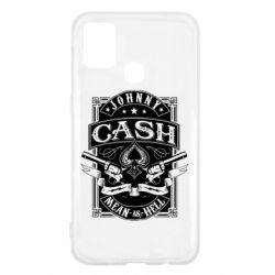Чохол для Samsung M31 Johnny cash mean as hell