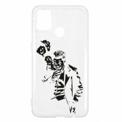 Чехол для Samsung M31 Joker smokes and smiles
