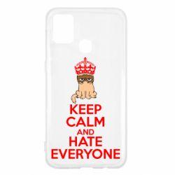 Чехол для Samsung M31 KEEP CALM and HATE EVERYONE