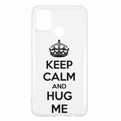 Чохол для Samsung M31 KEEP CALM and HUG ME