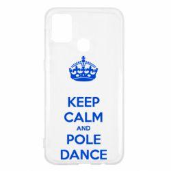 Чехол для Samsung M31 KEEP CALM and pole dance