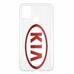 Чохол для Samsung M31 KIA 3D Logo