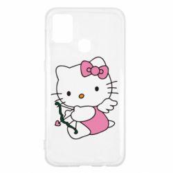 Чохол для Samsung M31 Kitty амурчик
