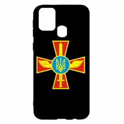 Чохол для Samsung M31 Хрест з мечем та гербом