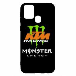 Чехол для Samsung M31 KTM Monster Enegry