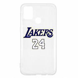 Чехол для Samsung M31 Lakers 24