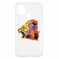 Чехол для Samsung M31 Lion multicolor