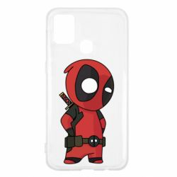 Чохол для Samsung M31 Little Deadpool