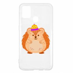 Чохол для Samsung M31 Little hedgehog in a hat