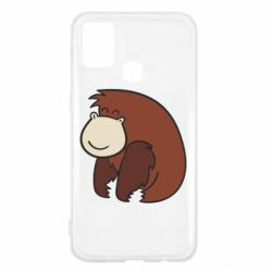 Чехол для Samsung M31 Little monkey