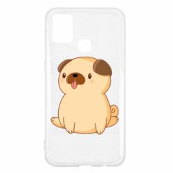 Чехол для Samsung M31 Little pug