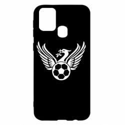 Чохол для Samsung M31 Liverpool and soccer ball
