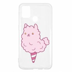 Чехол для Samsung M31 Llama Ice Cream
