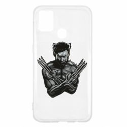Чехол для Samsung M31 Logan Wolverine vector