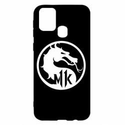 Чехол для Samsung M31 Logo Mortal Kombat 11
