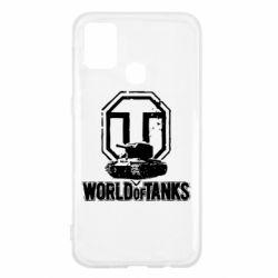 Чохол для Samsung M31 Логотип World Of Tanks