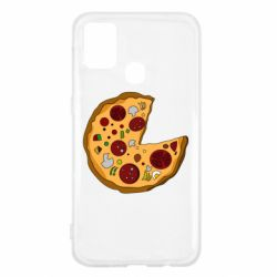 Чохол для Samsung M31 Love Pizza