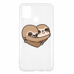 Чохол для Samsung M31 Love sloths
