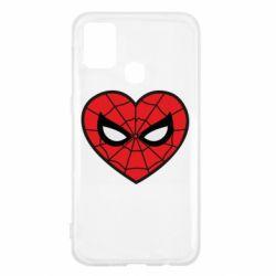 Чохол для Samsung M31 Love spider man