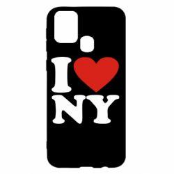 Чохол для Samsung M31 Люблю Нью Йорк