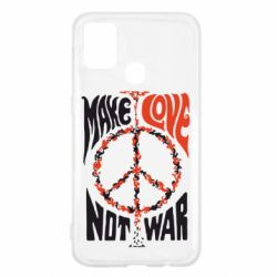 Чохол для Samsung M31 Make love, not war