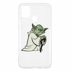Чохол для Samsung M31 Master Yoda