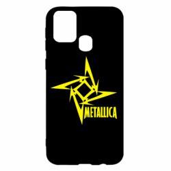 Чохол для Samsung M31 Логотип Metallica