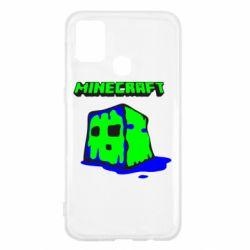 Чохол для Samsung M31 Minecraft Head
