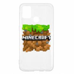 Чохол для Samsung M31 Minecraft Main Logo