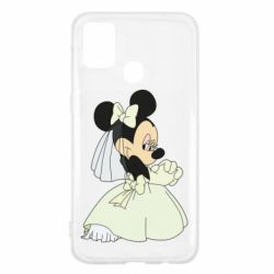 Чехол для Samsung M31 Minnie Mouse Bride